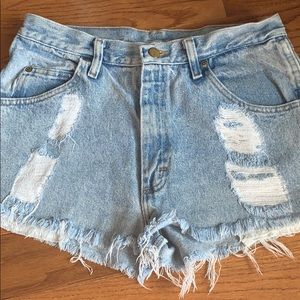 Urban Outfitter Wrangler Cut Off Shorts